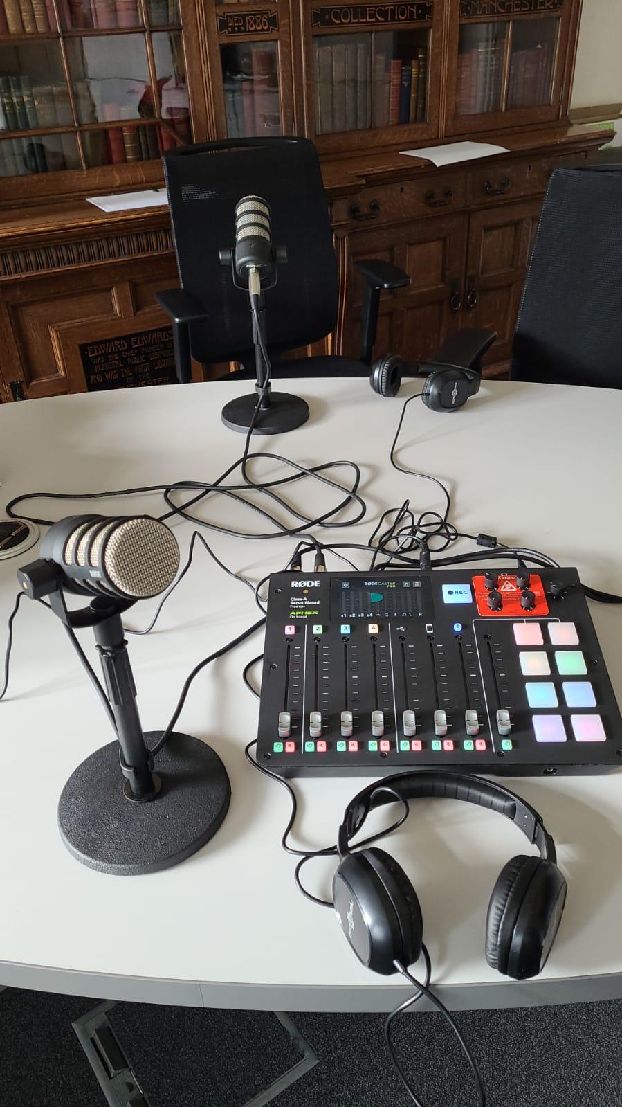 podcasting eqipment